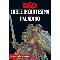 PALADINO carte incantesimo DUNGEONS & DRAGONS 5a Edizione 70 CARTE incantatore IN ITALIANO