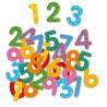 NUMERI MAGNETICI 38 pezzi IN LEGNO magnetics numbers DJECO gioco DJ03103 età 3+