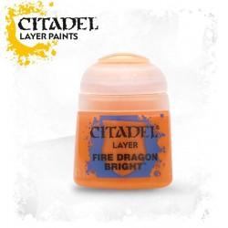 FIRE DRAGON BRIGHT colore Citadel paint layer 12 ml arancione acrilico