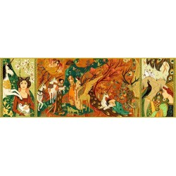 PUZZLE GALLERY 500 pezzi UNICORN GARDEN giardino degli unicorni DJECO agatha kawa DJ07624 età 8+