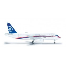 SUKHOI SUPERJET 100 aereo in metallo 526425 modellino HERPA WINGS scala 1:500