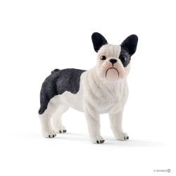 BULLDOG FRANCESE cani FARM WORLD gioco animali SCHLEICH miniature in resina 13877 età 3+