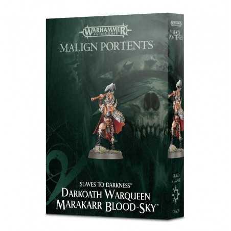 Slaves To Darkness DARKOATH WARQUEEN MARAKARR BLOOD-SKY Warhammer MALIGN PORTENTS Age Of Sigmar CITADEL miniatura 12+