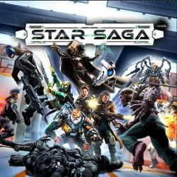 STAR SAGA THE EIRAS CONTRACT CORE SET Kickstarter edition Sci-Fi adventure boardgame 71 miniatures Mantic Games