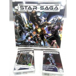 STAR SAGA THE EIRAS CONTRACT CORE SET Kickstarter edition Sci-Fi adventure boardgame 71 miniatures Mantic Games