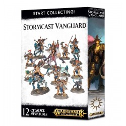 START COLLECTING STORMCAST VANGUARD 12 miniature Warhammer Citadel Games Workshop