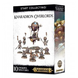 START COLLECTING KHARADRON OVERLORDS 10 miniature nani Citadel Warhammer Age of Sigmar