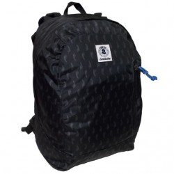 ZAINO REVERSIBILE Invicta GIFT backpack NERO double face CARTELLA tempo libero SCUOLA