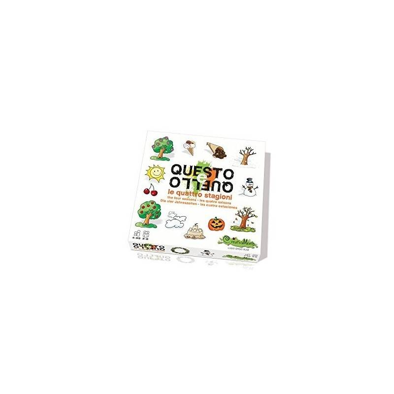 This and that the four seasons 2-8 CREATIVELY PUZZLE GAME players ages 4 +
