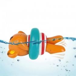 TEDDY nuotatore A CARICA little splashers HAPE orsetto E0204 per il bagnetto 12 MESI +