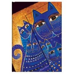 Striped CATS diary South MEDITERRANEAN 13 x 18 cm