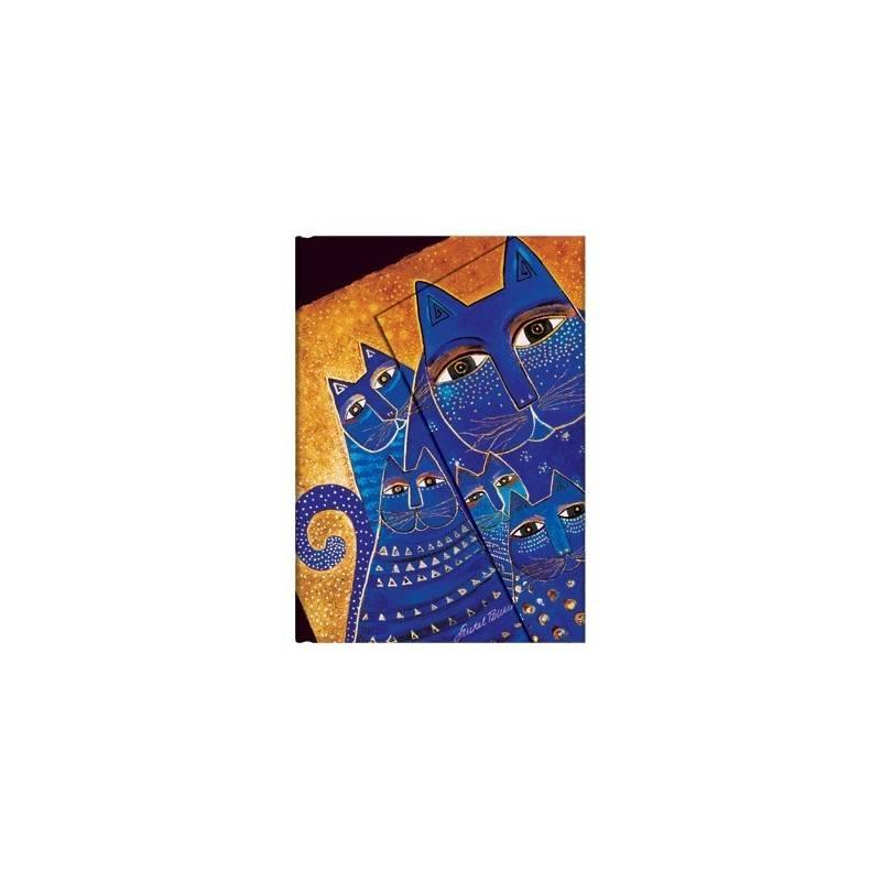 Striped CATS diary South MEDITERRANEAN 13 x 18 cm