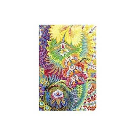 Diario a righe AURORA mini cm 10x14 - PAPERBLANKS 176 pagine Giardino di Olena Petrykivka