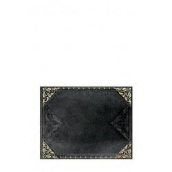 Libro degli ospiti bianco RIBELLE DI MEZZANOTTE orizzontale cm 23x18 - PAPERBLANKS