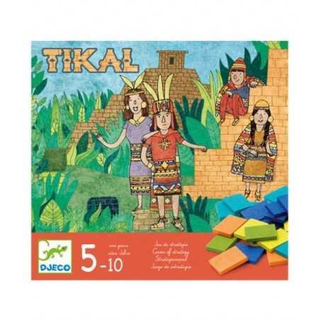 TULUM gioco strategico IN LEGNO piramide DJ08400 dadi DJECO età 5+