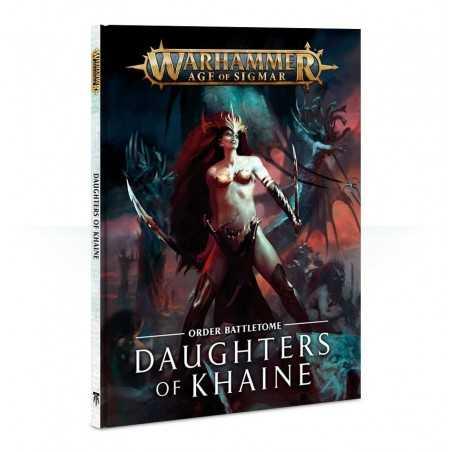 ORDER BATTLETOME daughters of khaine AGE OF SIGMAR 64 pagine a colori GAMES WORKSHOP warhammer CITADEL età 12+