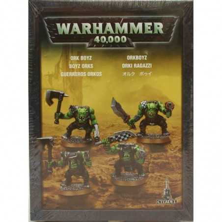4 miniature ORKI RAGAZZI warhammer 40000 GAMES WORKSHOP orchi CITADEL età 12+