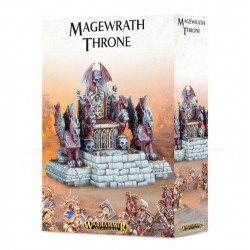 MAGEWRATH THRONE trono ELEMENTO SCENICO warhammer GAMES WORKSHOP Age of Sigmar CITADEL età 12+