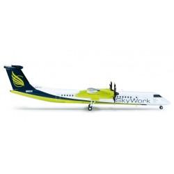 SKYWORK AIRLINES BOMBARDIER Q400 aereo in metallo 554923 modellino HERPA WINGS scala 1:200 plane
