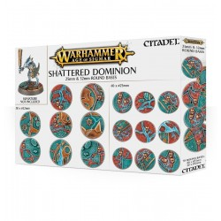 SHATTERED DOMINION bases mm 25 e 32 - 70 basette Citadel Warhammer Age of Sigmar