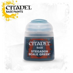 STEGADON SCALE GREEN Citadel paint colore acrilico base 12 ml Warhammer Games Workshop