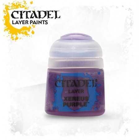 XEREUS PURPLE Citadel paint colore acrilico layer 12 ml Warhammer Games Workshop