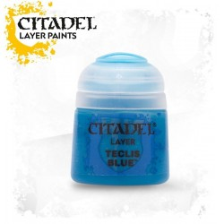 TECLIS BLUE Citadel paint colore acrilico layer 12 ml Warhammer Games Workshop