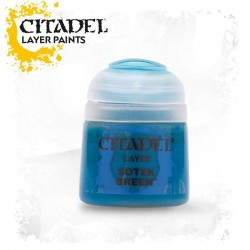 SOTEK GREEN Citadel paint colore acrilico layer 12 ml Warhammer Games Workshop