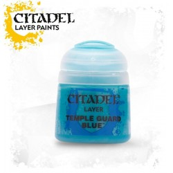 TEMPLE GUARD BLUE Citadel paint colore acrilico layer 12 ml Warhammer Games Workshop