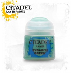 SYBARITE GREEN Citadel paint colore acrilico layer 12 ml Warhammer Games Workshop
