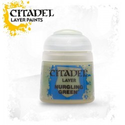 NURGLING GREEN Citadel paint colore acrilico layer 12 ml Warhammer Games Workshop