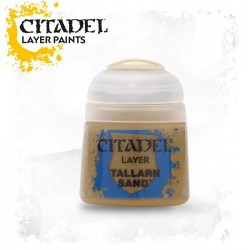 TALLARN SAND Citadel paint colore acrilico layer 12 ml Warhammer Games Workshop