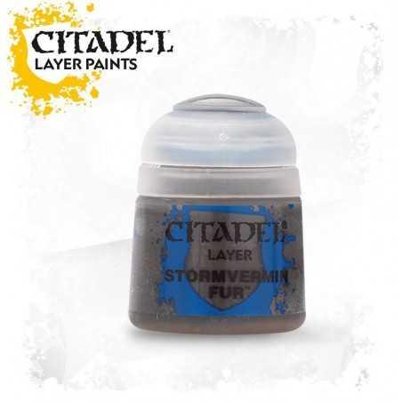 STORMVERMIN FUR Citadel paint colore acrilico layer 12 ml Warhammer Games Workshop