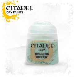 HELLION GREEN colore DRY Citadel WARHAMMER Games Workshop VERDE boccetta 12 ML pennello asciutto