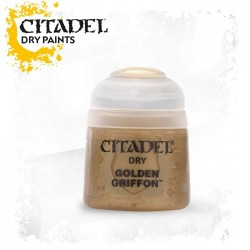 GOLDEN GRIFFON colore DRY Citadel WARHAMMER Games Workshop ORO boccetta 12 ML pennello asciutto