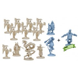 THE WORLD OF SMOG RISE OF MOLOCH Kickstarter exclusive THE DRAGON expansion plus MR HONK ALTERNATE SCULPT