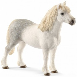 STALLONE WELSH PONY animali in resina SCHLEICH miniature 13871 cavalli horse club