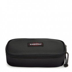 ASTUCCIO Eastpak OVAL XL tasca interna con zip EK34A008 divisoria porta penne NERO single BLACK