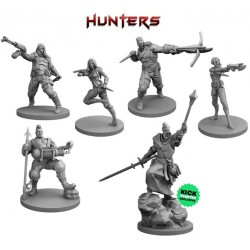 VAMPIRE HUNTERS Kickstarter Edition Slayer Pledge miniature boardgame including exclusive Stretch Goals