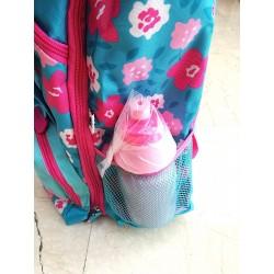 c2cb792bee ZAINO wwf GIRL backpack CANE tyler 2018 rosa e azzurro RACHAEL HALE scuola  ESTENSIBILE + borraccia