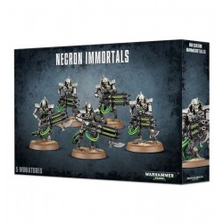 NECRON IMMORTALS immortali WARHAMMER 40000 5 miniature CITADEL 40k DEATHMARKS età 12+