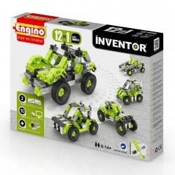 INVENTOR 12 in 1 CAR MODELS Engino KIT costruzioni in plastica GIOCO età 6+