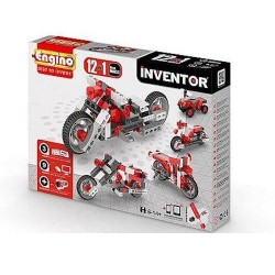 INVENTOR 12 in 1 MOTORBIKES Engino KIT costruzioni in plastica GIOCO età 6+