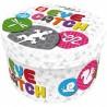 EYE CATCH game factory CARTE ROTONDE giocho SCATOLA IN LATTA da vinci DUE GIOCHI IN UNO età 8+