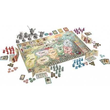 RISING SUN edizione italiana gioco di miniature Giappone Asmodee