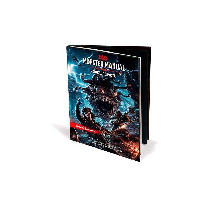 MANUALE DEI MOSTRI D&D 5a edizione italiano Asmodee 2018 Dungeons and Dragons 350 pagine tutte a colori