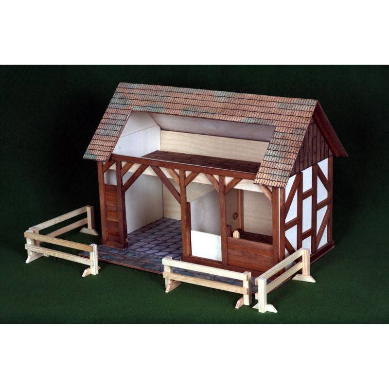 Large wooden stable