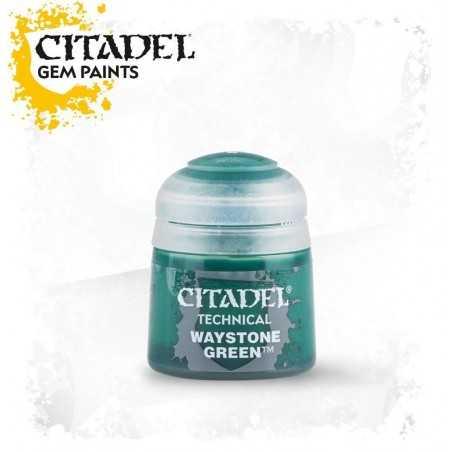 WAYSTONE GREEN Technical paint Citadel verde colore 12 ml Warhammer