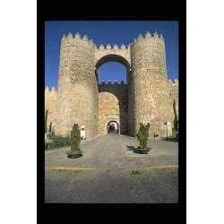 Puerta del Alcazar-Avila-Espagne