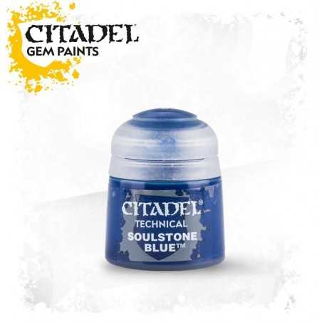 SOULSTONE BLUE Technical Gem paint Citadel blu colore 12 ml Warhammer